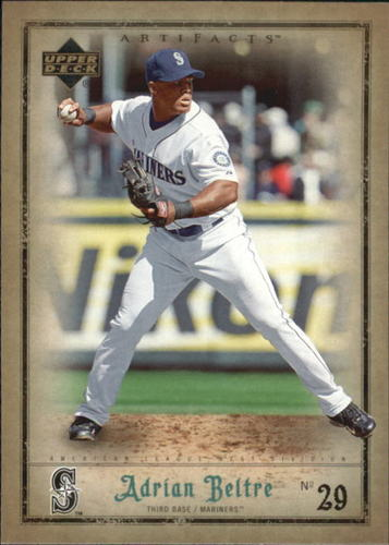 Photo of 2006 Artifacts #78 Adrian Beltre