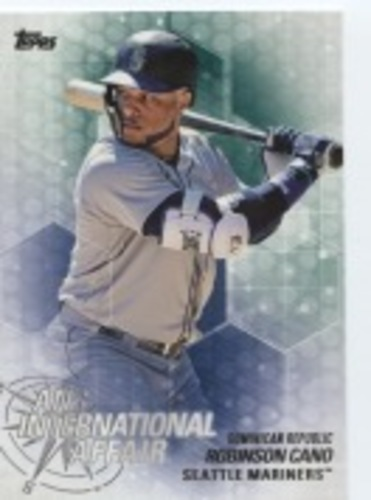 Photo of 2018 Topps Update An International Affair #IA20 Robinson Cano