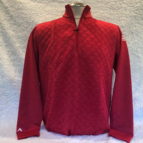 Photo of UMPS CARE AUCTION: UMPS CARE Antigua Arctic Pullover, Red, Size Large