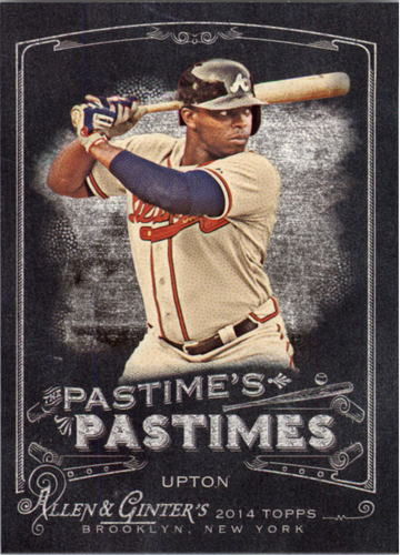 Photo of 2014 Topps Allen and Ginter The Pastime's Pastime #PPJU Justin Upton