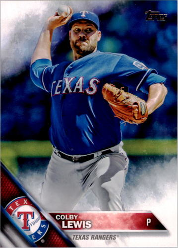 Photo of 2016 Topps #305 Colby Lewis
