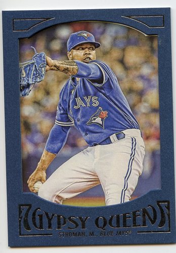 Photo of 2016 Topps Gypsy Queen Framed Blue #14 Marcus Stroman