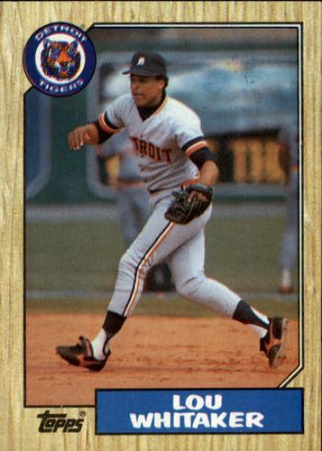 Photo of 1987 Topps #661 Lou Whitaker