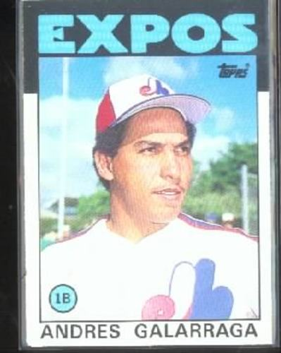 Photo of 1986 Topps Traded #40T Andres Galarraga XRC