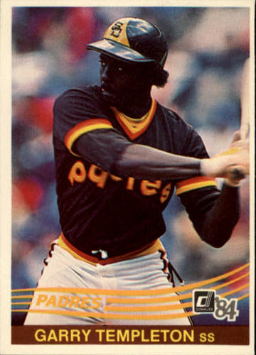 Photo of 1984 Donruss #185 Garry Templeton