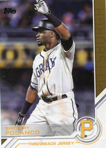 Photo of 2017 Topps Salute #S198 Gregory Polanco