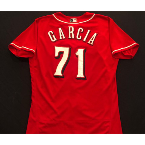 Photo of Robel Garcia -- 2020 Spring Training Jersey -- Team-Issued -- Size 44