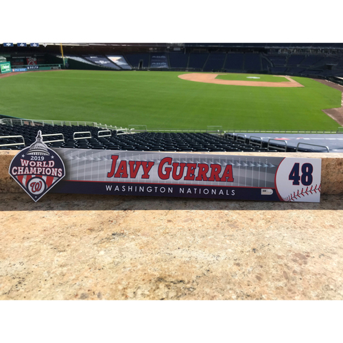 Photo of Javy Guerra Team-Issued 2020 Locker Tag