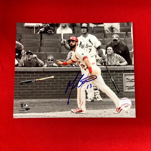 Matt Carpenter Autographed Photo