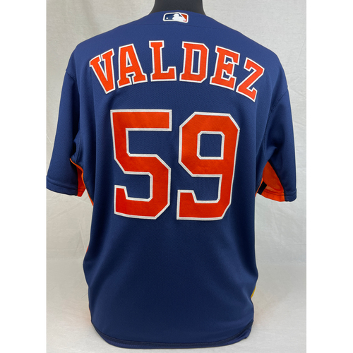 Photo of Framber Valdez Game-Used Jersey - June 15, 2019