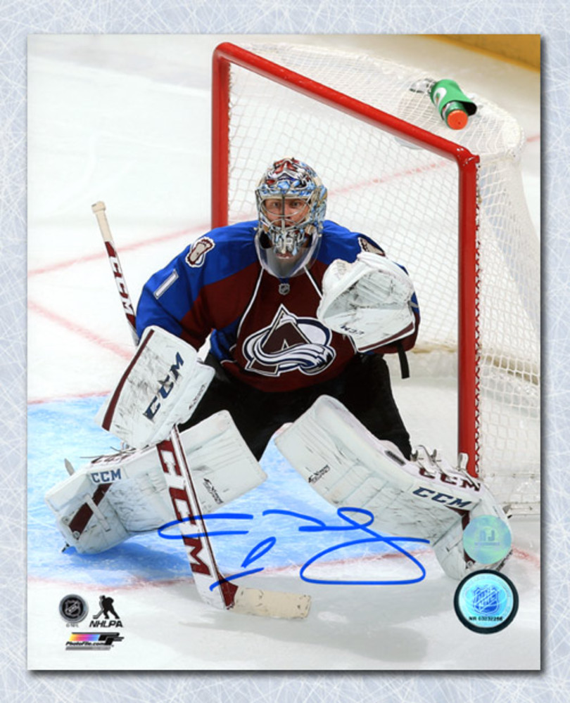 Semyon Varlamov Colorado Avalanche Autographed Goalie 8x10 Photo