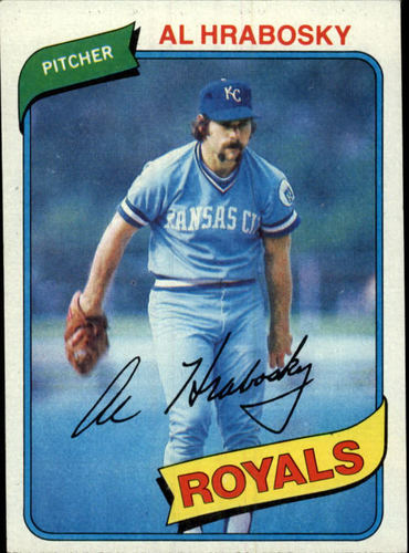 Photo of 1980 Topps #585 Al Hrabosky