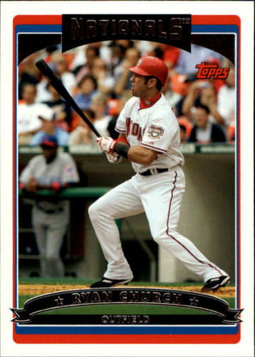 Photo of 2006 Topps #154 Ryan Church
