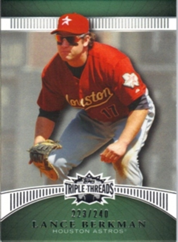 Photo of 2010 Topps Triple Threads Emerald #96 Lance Berkman