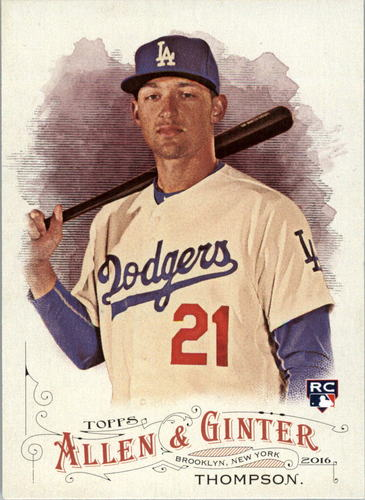 Photo of 2016 Topps Allen and Ginter #16 Trayce Thompson RC