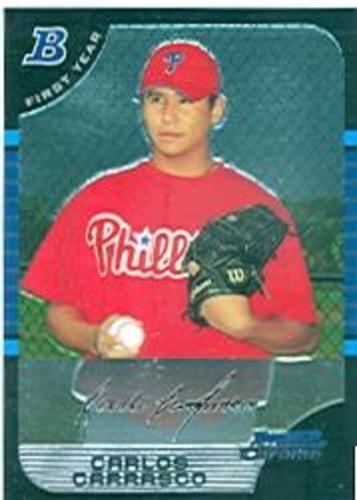 Photo of 2005 Bowman Chrome #313 Carlos Carrasco RC