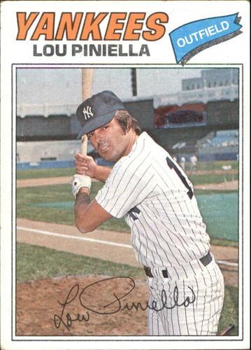 Photo of 1977 Topps #96 Lou Piniella