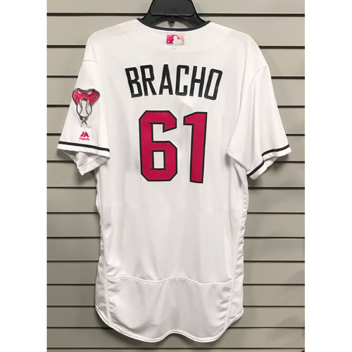 Silvino Bracho Game-Used 2017 Mother's Day Jersey