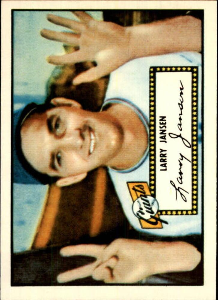 1983 Topps 1952 Reprint #5 Larry Jansen