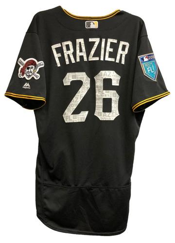 Photo of Adam Frazier Game-Used 2018 Spring Training Jersey