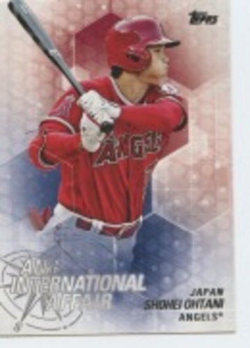 Photo of 2018 Topps Update An International Affair #IA23 Shohei Ohtani