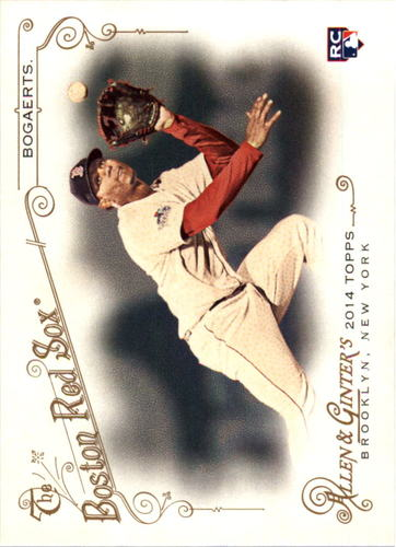 Photo of 2014 Topps Allen and Ginter #133 Xander Bogaerts RC