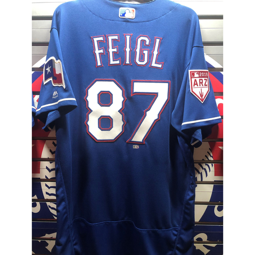 Photo of Brady Feigl Team-Issued Spring Training Jersey