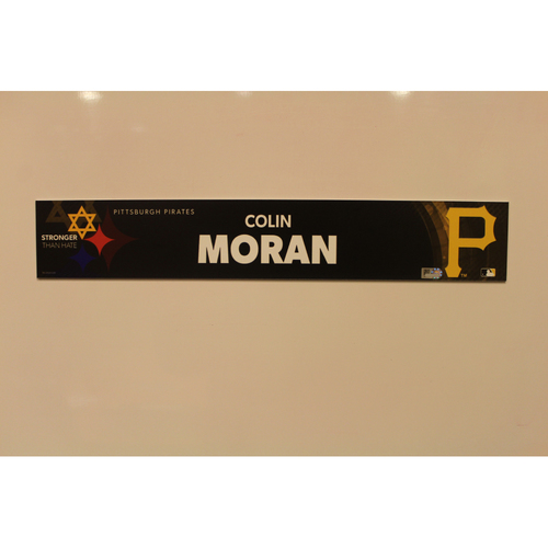 Photo of 2019 Game Used Locker Nameplate - Colin Moran