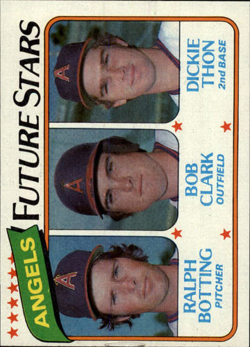 Photo of 1980 Topps #663 Ralph Botting RC/Bob Clark RC/Dickie Thon RC