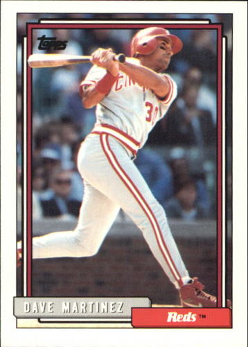 Photo of 1992 Topps Traded #67T Dave Martinez