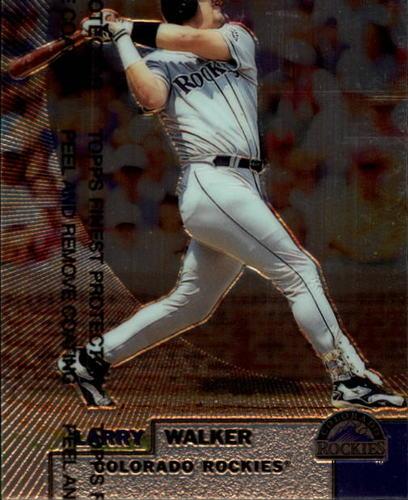Photo of 1999 Finest #205 Larry Walker
