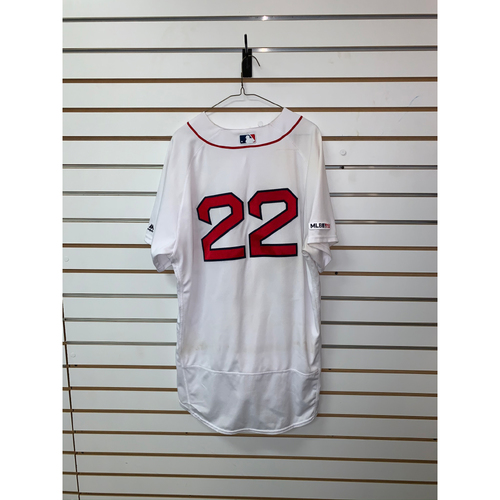 Photo of Rick Porcello Game Used June 23, 2019 Home Jersey