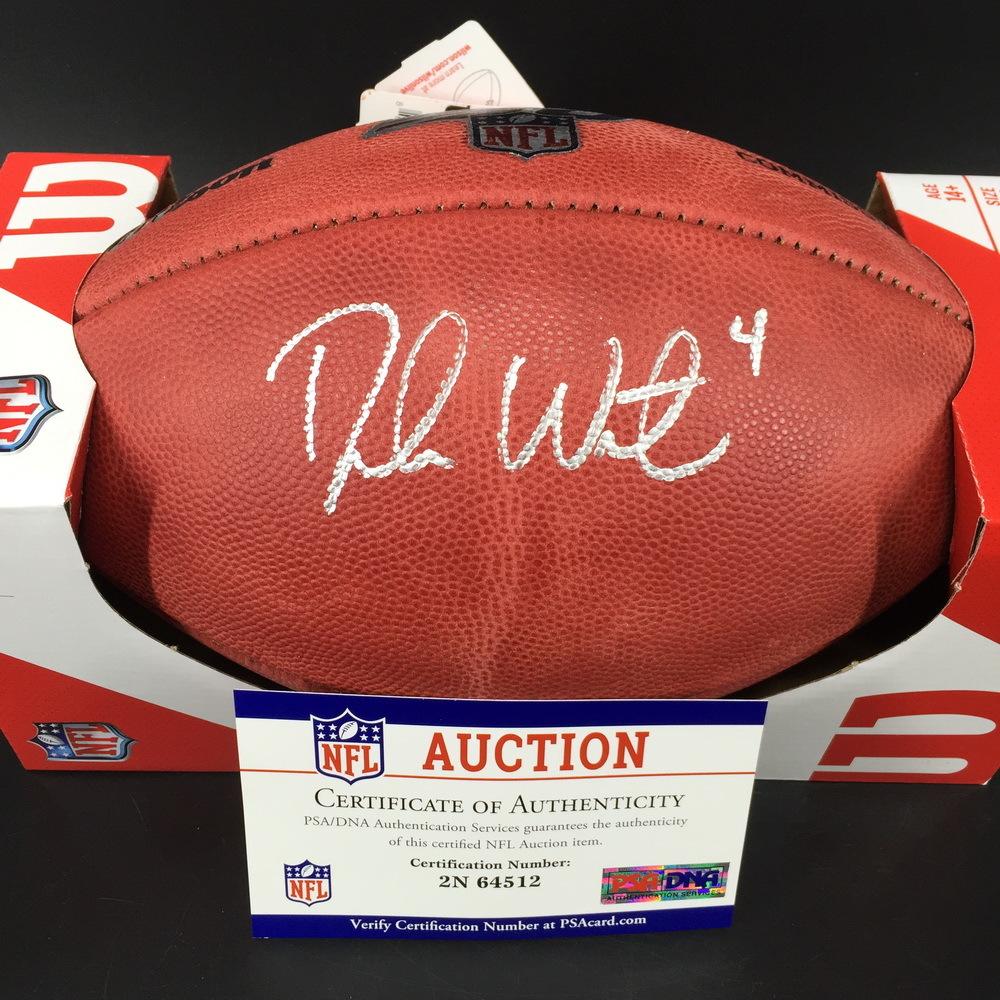PCC - Texans Deshaun Watson Signed Authentic Football - Benefits the Deshaun Watson Foundation