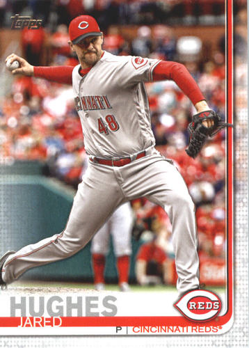 Photo of 2019 Topps #620 Jared Hughes