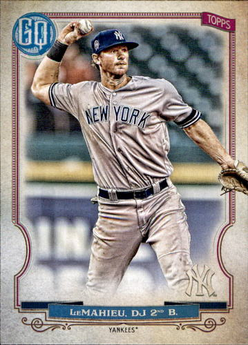 Photo of 2020 Topps Gypsy Queen #278 DJ LeMahieu
