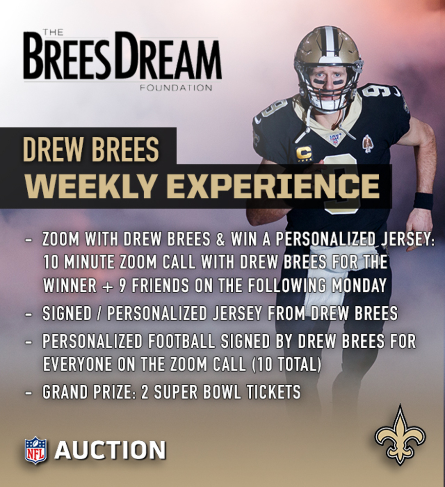 Drew Brees Weekly Experience
