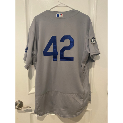 Photo of Max Muncy Authentic Game-Used Jersey from 8/28/20 Game @ TEX - Size  46