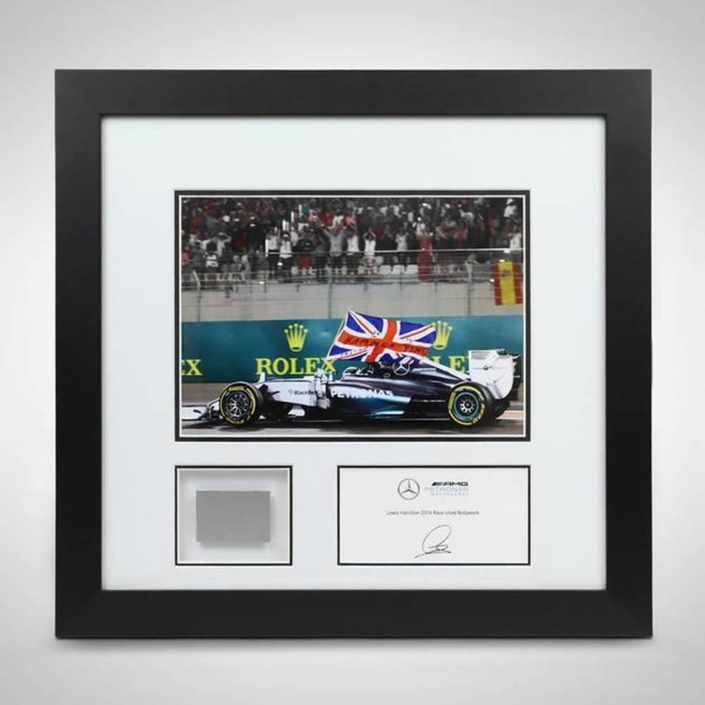 Lewis Hamilton 2014 Abu Dhabi GP Bodywork & Photo