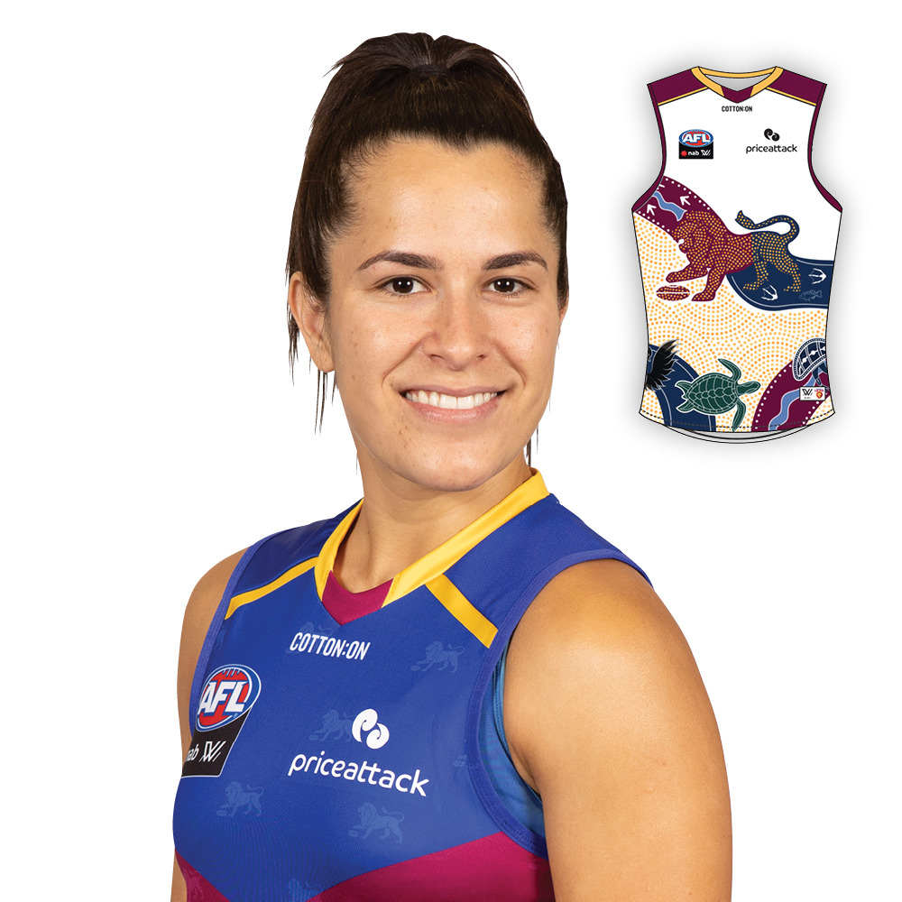 2021 AFLW Indigenous Guernsey - Ally Anderson