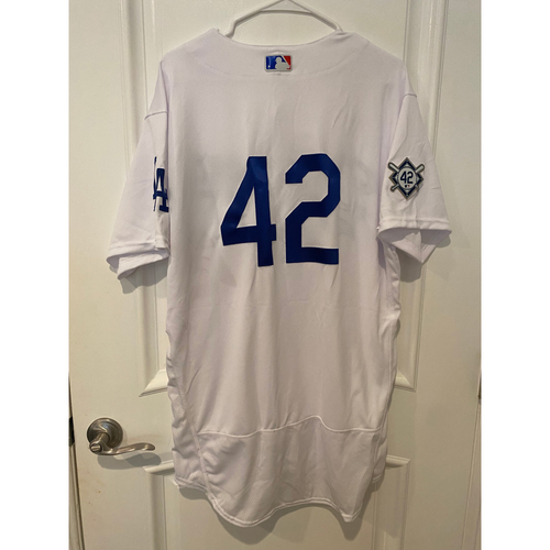 Photo of Cody Bellinger Team-Issued Jackie Robinson Day Jersey - Size 46C