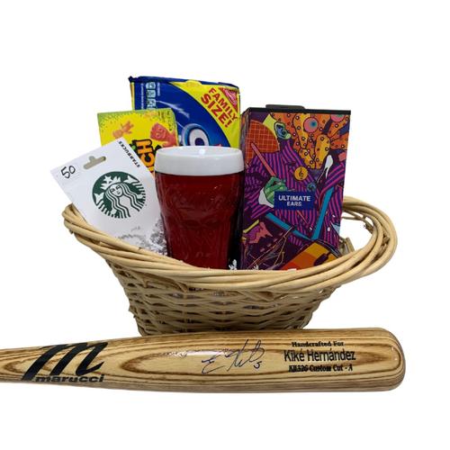 Photo of Kike Hernandez Favorite Things Basket