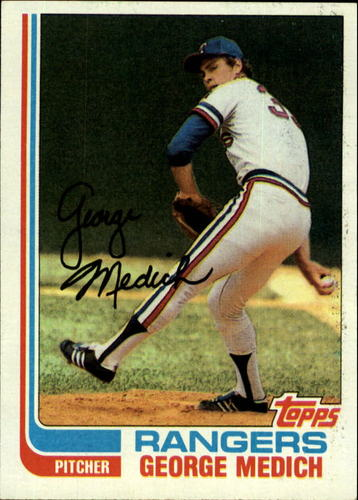 Photo of 1982 Topps #78 George Medich