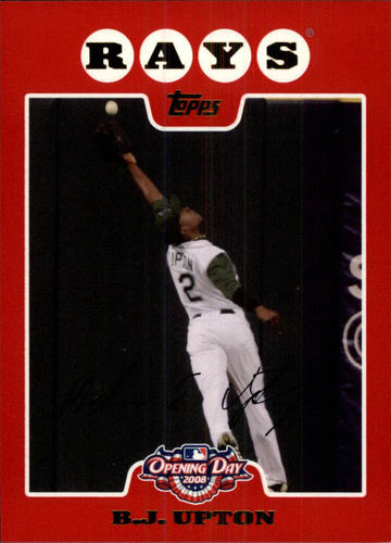 Photo of 2008 Topps Opening Day #80 B.J. Upton