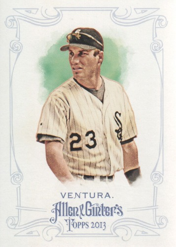 Photo of 2013 Topps Allen and Ginter #47 Robin Ventura