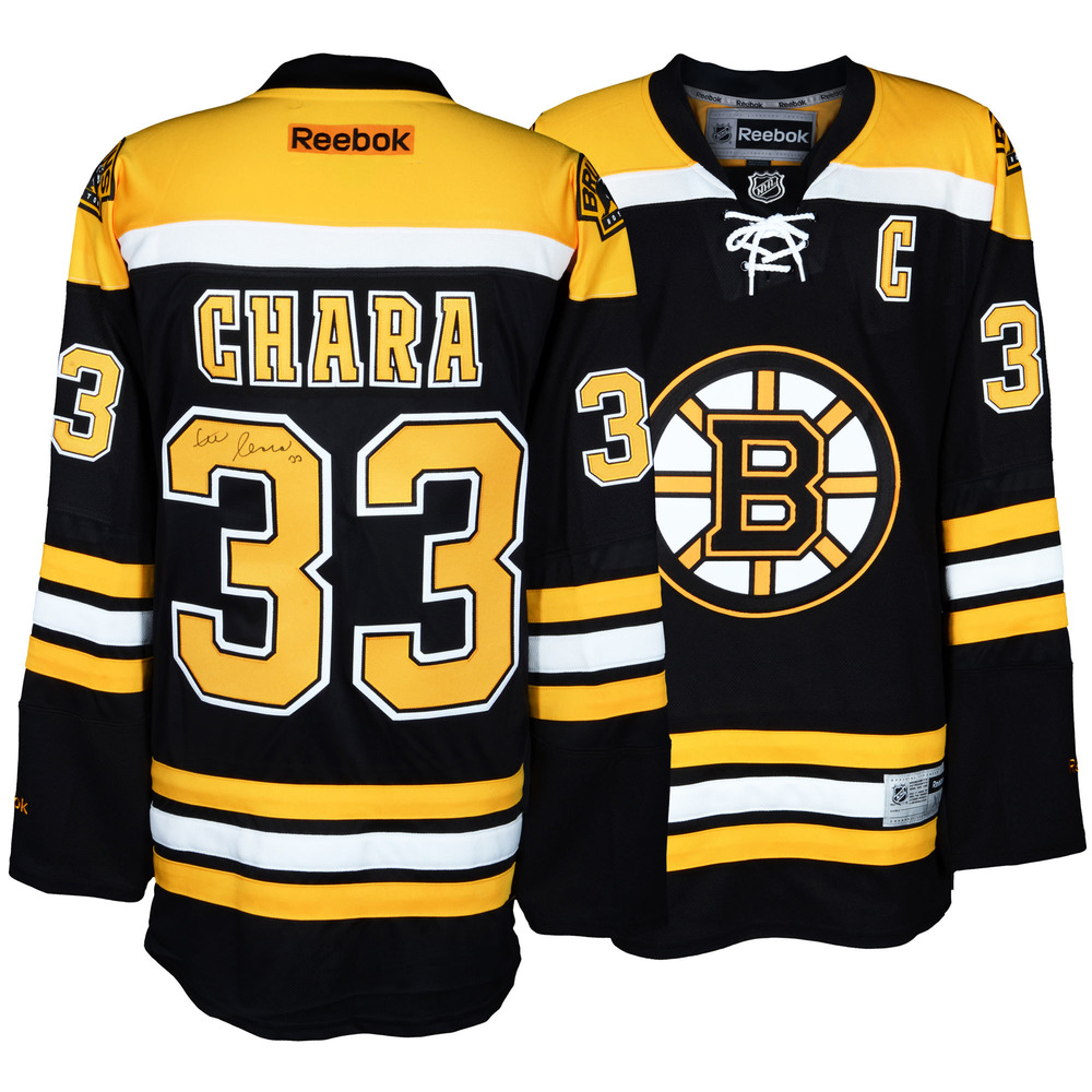 Zdeno Chara Boston Bruins Autographed Reebok Premier Jersey
