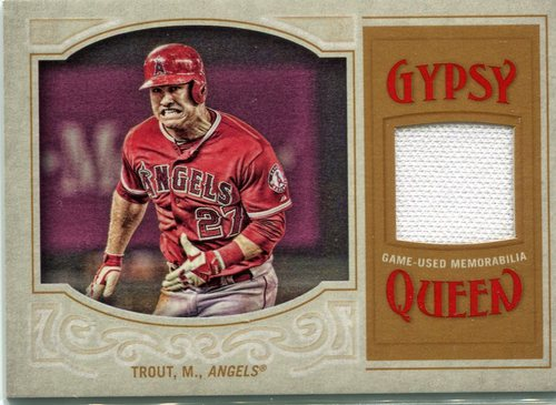 Photo of 2016 Topps Gypsy Queen Relics Mike Trout