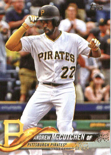 Photo of 2018 Topps #200 Andrew McCutchen