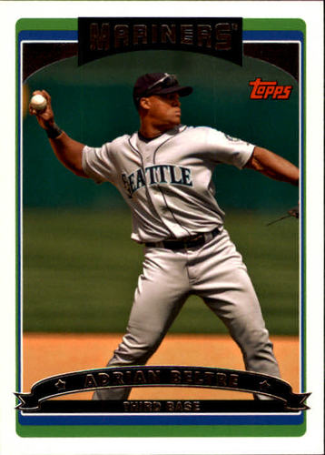 Photo of 2006 Topps #495 Adrian Beltre