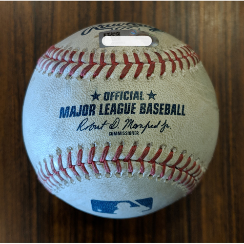 Photo of Adam Jones - RBI Single: Game-Used