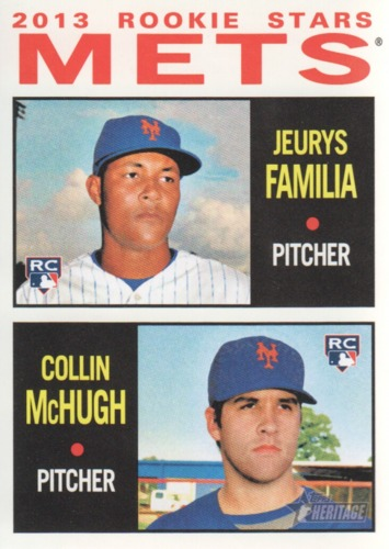 Photo of 2013 Topps Heritage #398 Jeurys Familia RC/Collin McHugh RC